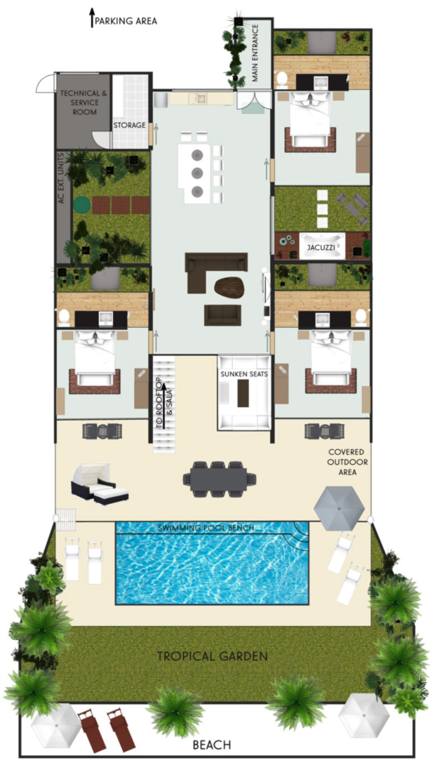 Bliss Villas floor plan